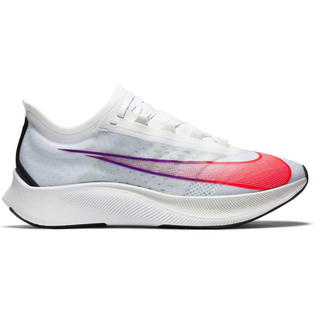 Nike Zoom Fly 3 EU 43 White / Flash Crimson / Spruce Aura