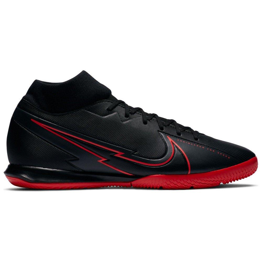 Nike Mercurial Superfly Vii Academy Ic EU 45 Black / Dk Smoke Grey