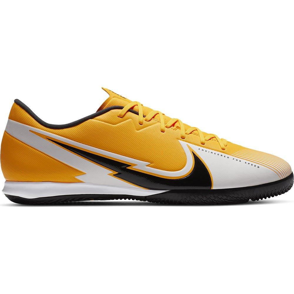 Nike Chaussures Football Salle Mercurial Vapor Xiii Academy Ic EU 45 Laser Orange / Black / White