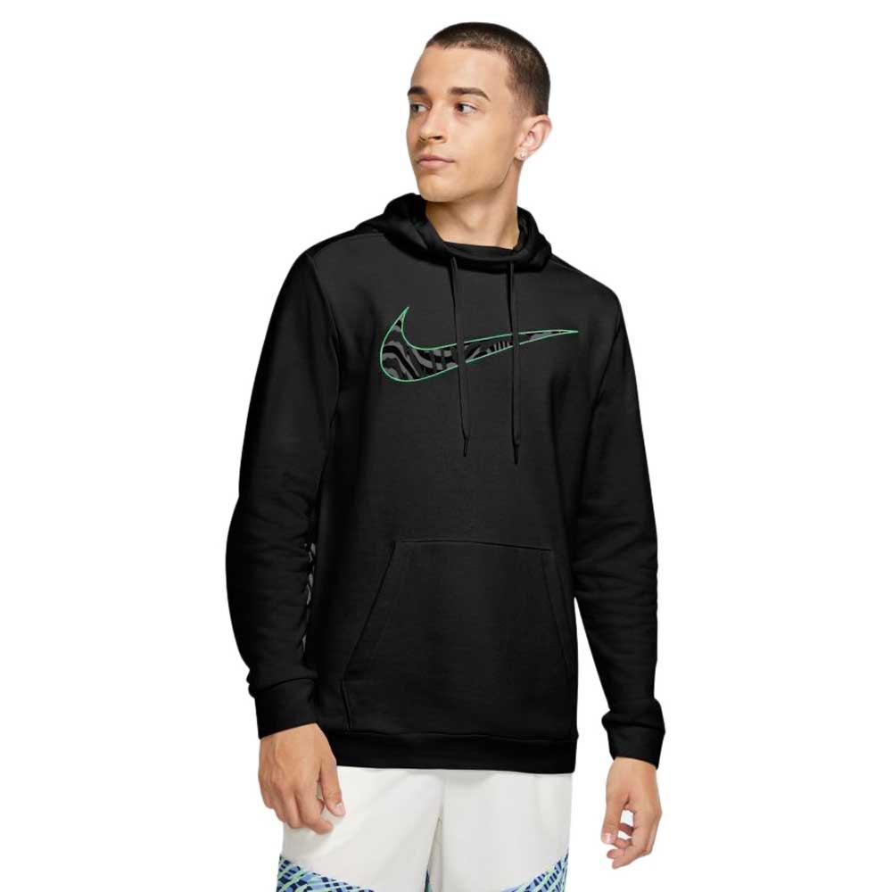 Nike Dri-fit XL Black / Illusion Green