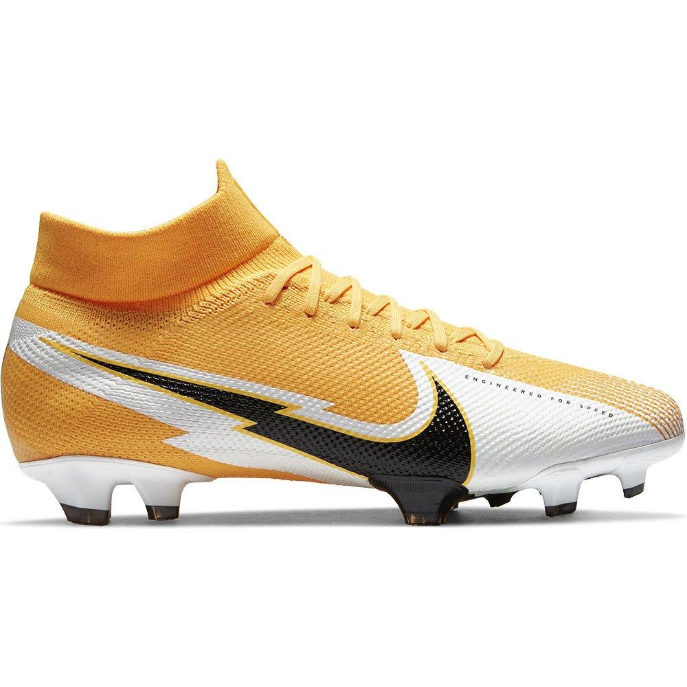 Nike Chaussures Football Mercurial Superfly Vii Pro Fg EU 42 1/2 Laser Orange / Black / White