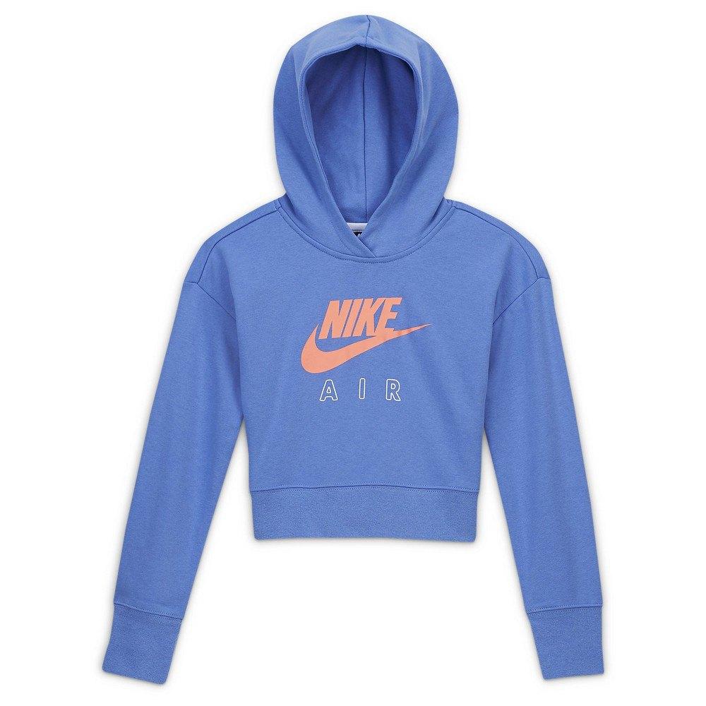 Nike Sportswear Air Cropped XS Royal Pulse / White / Atomic Pink