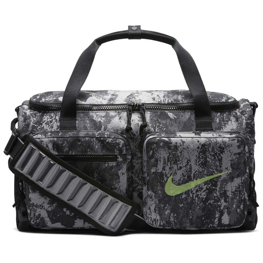 Nike Utility S All Over Print One Size Particle Grey / Black / Lime Blast