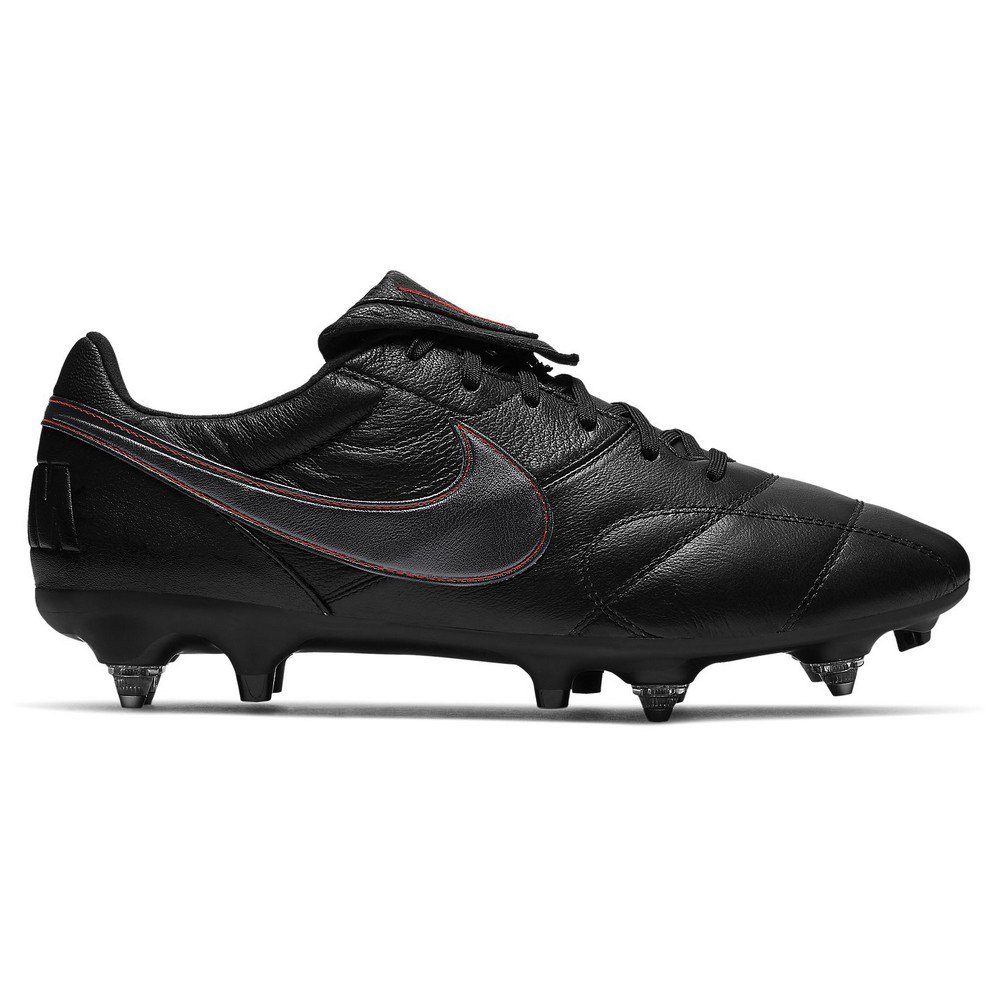 Nike Chaussures Football The Premier Ii Pro Ac Sg EU 41 Black / Dk Smoke Grey / Chile Red