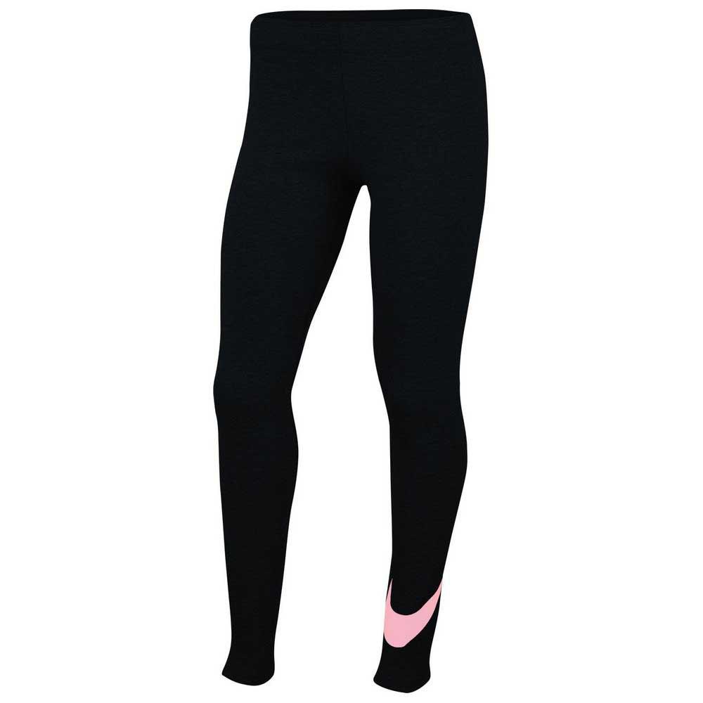 Nike Mallas Sportswear Favorites Swoosh S Black / Pink