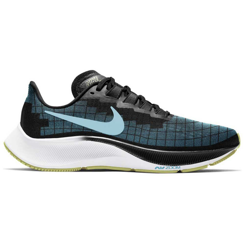 Nike Air Zoom Pegasus 37 EU 36 1/2 Black / Glacier Ice / Barely Volt / White