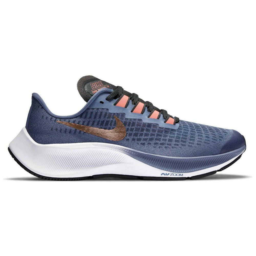 Nike Air Zoom Pegasus 37 Gs EU 38 World Indigo / Metalic Red Bronze