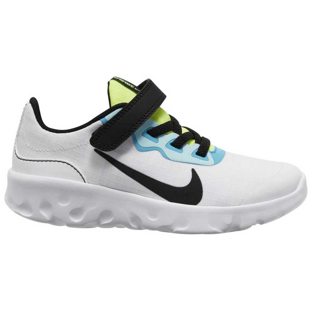 Nike Explore Strada Psv EU 28 1/2 White / Black / Blue Fury / Glacier Ice