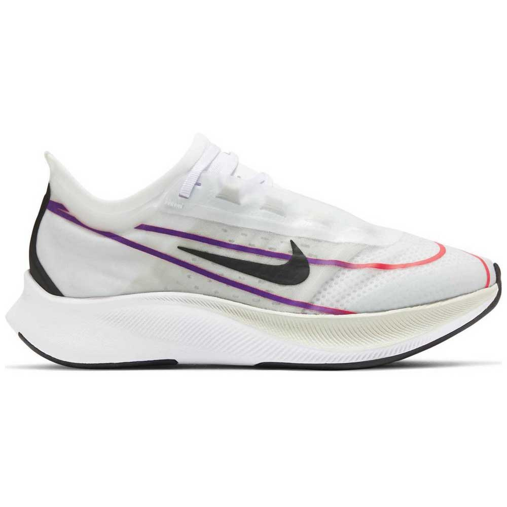 Nike Zoom Fly 3 EU 41 White / Black / Hyper Violet / Flash Crimson