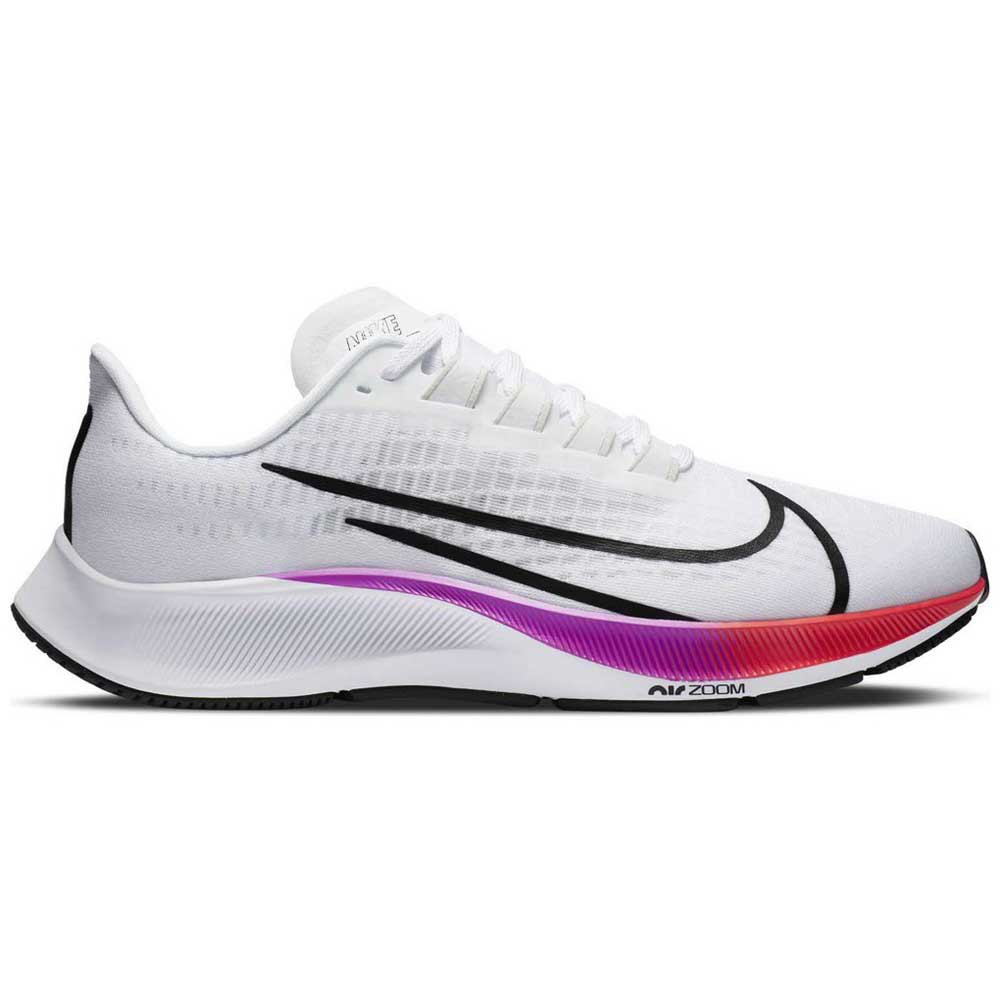 Nike Air Zoom Pegasus 37 EU 40 1/2 White / Black / Hyper Violet / Flash  Crimson