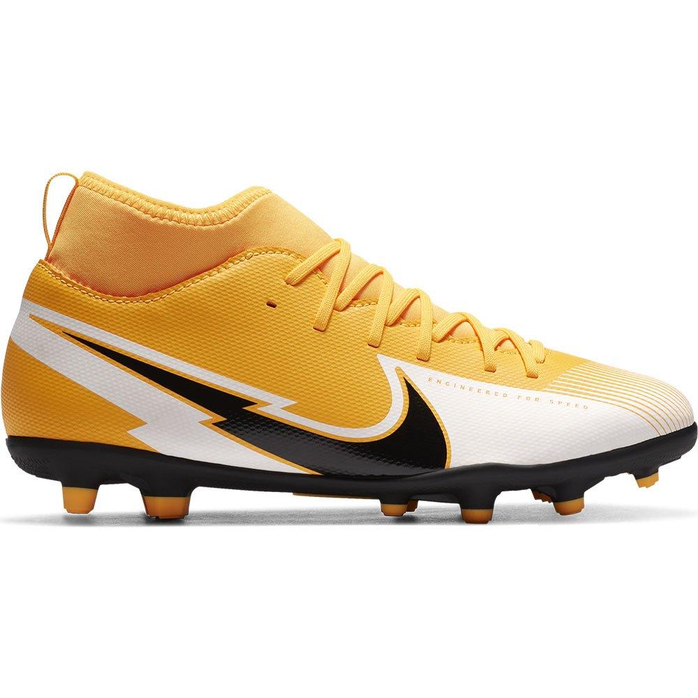 Nike Chaussures Football Mercurial Superfly Vii Academy Ic EU 38 1/2 Laser Orange / Black / White