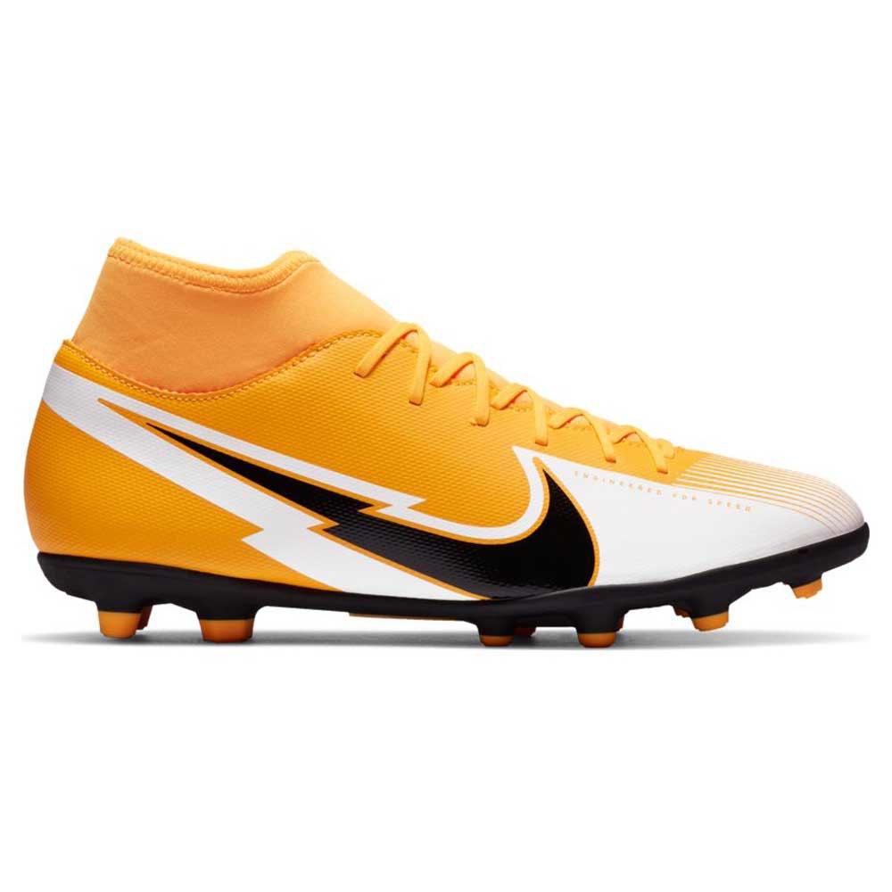 Nike Mercurial Superfly Vii Club Fg/mg Football Boots EU 43 Laser Orange / Black / White