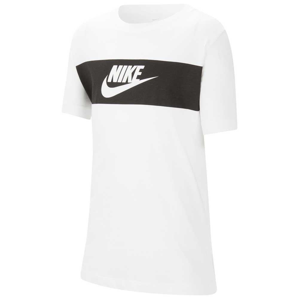 Nike T-shirt Manche Courte Sportswear S White 1