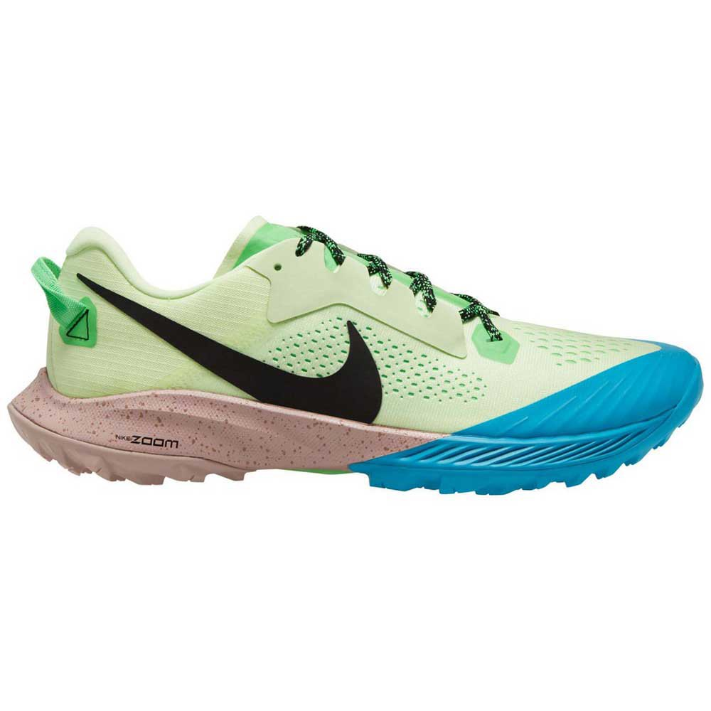 Nike Air Zoom Terra Kiger 6 EU 45 Barely Volt / Black / Poison Green