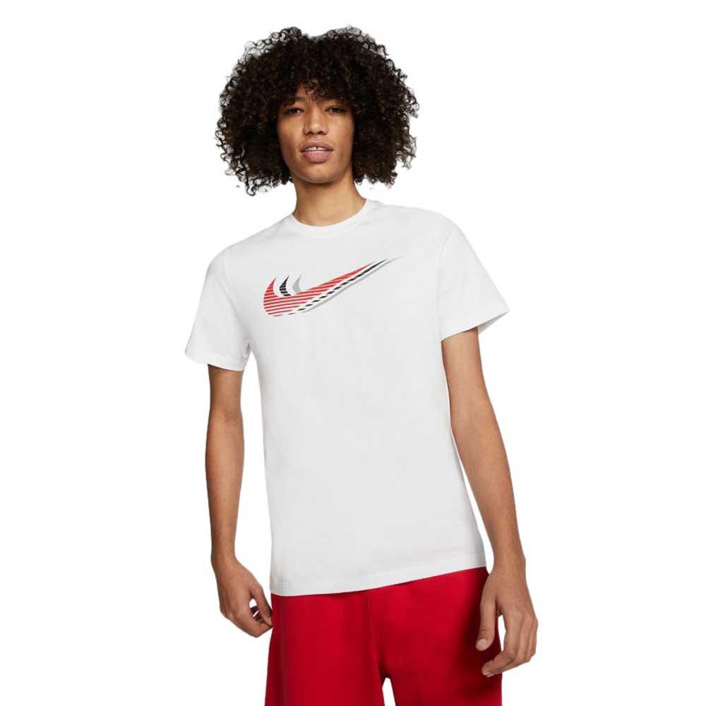 Nike Sportswear Swoosh L White / University Red