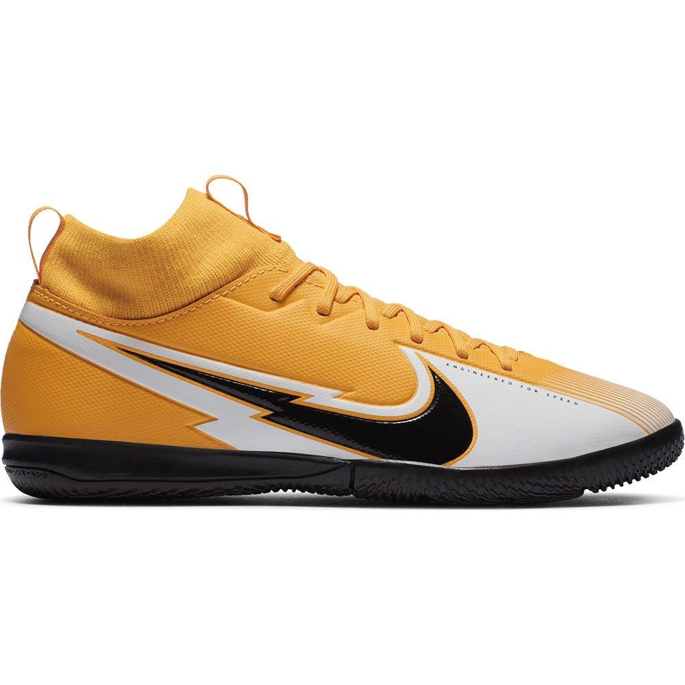 Nike Chaussures Football Salle Mercurial Superfly Vii Academy Ic EU 38 Laser Orange / Black / White