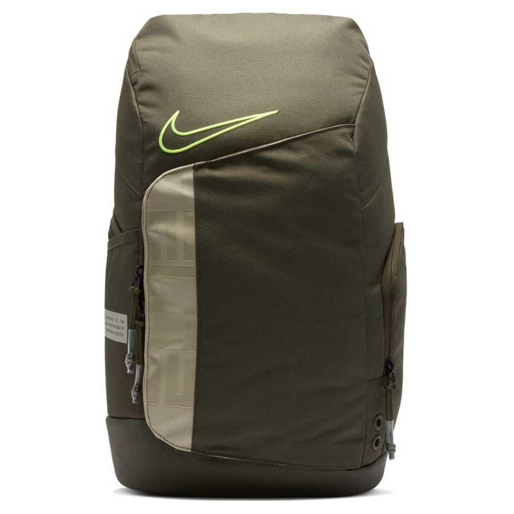 Nike Elite Pro S One Size Cargo Khaki / Stone / Volt