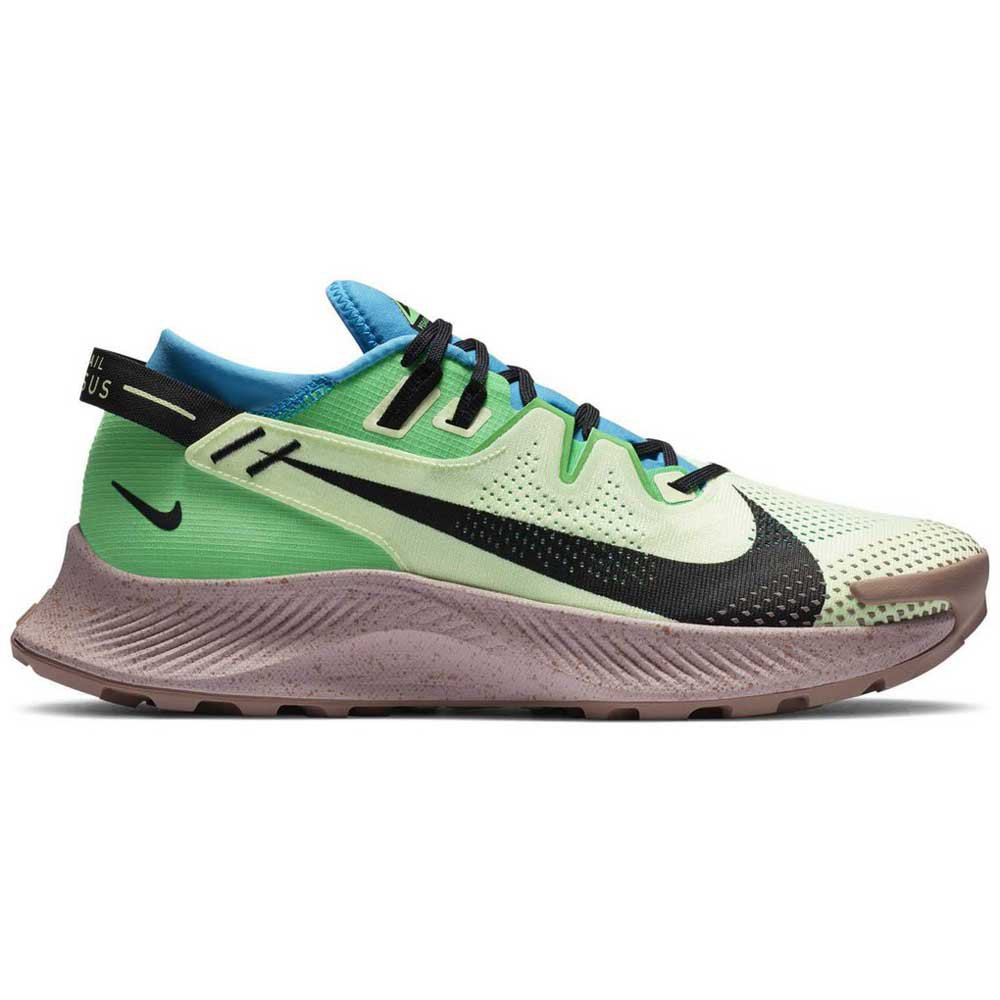 Nike Pegasus Trail 2 EU 43 Barely Volt / Black / Laser Blue