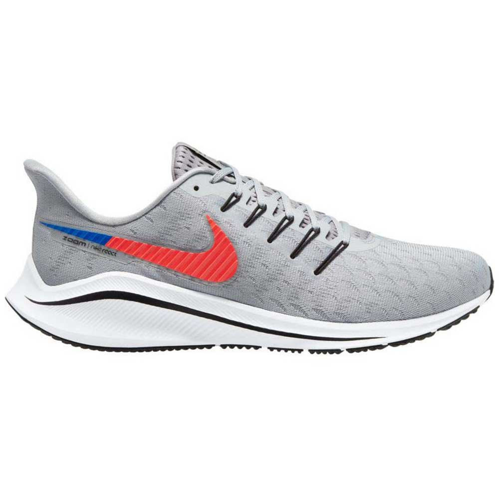 Nike Air Zoom Vomero 14 EU 43 Wolf Grey / Bright Crimson / Particle Grey