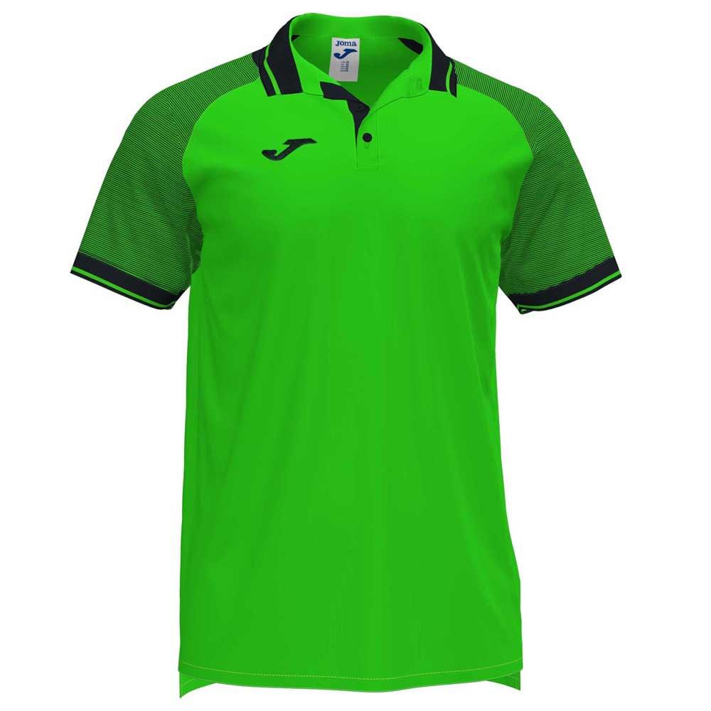 Joma Polo Manche Courte Essential Ii XXL Fluor Green / Black
