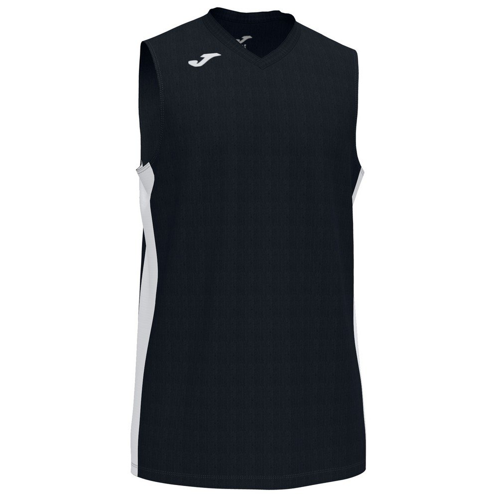 Joma T-shirt Sans Manches Cancha Iii XL Black / White