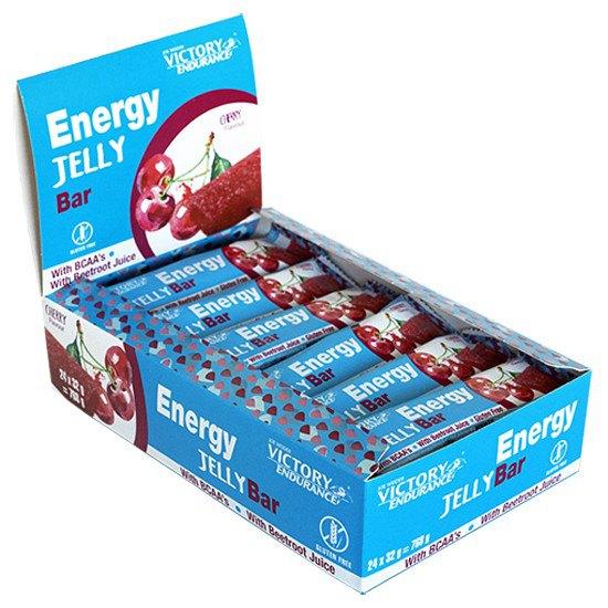 Victory Endurance Energy Jelly 32gr X 24 Bars Cherry Cherry