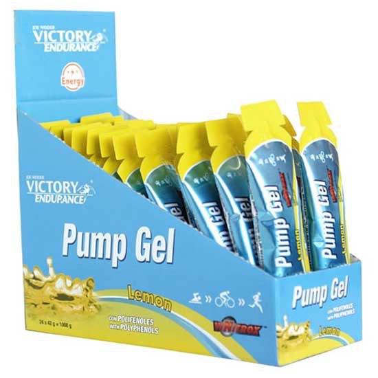 Victory Endurance Pump 42gr X 24 Gels Lemon Lemon