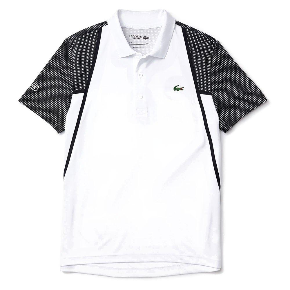 Lacoste Sport Mesh Breathable L White / Black-Black-Black