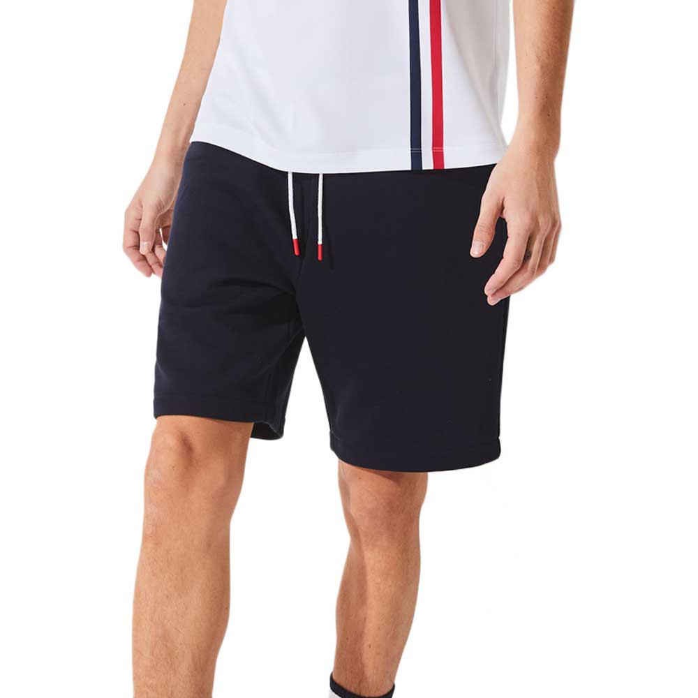 Lacoste Short Sport S Navy Blue / White-Red-Red