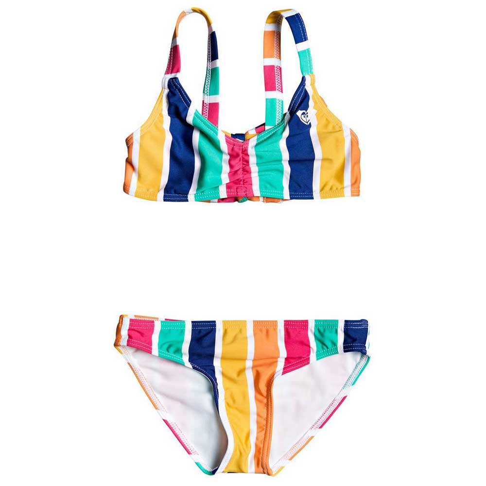 Roxy Maui Shade Bral Set 4 Years Monaco Blue Pong Stripes S