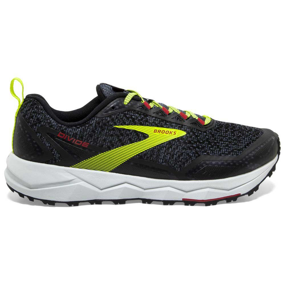 Brooks Divide EU 42 1/2 Black / Ebony / Red