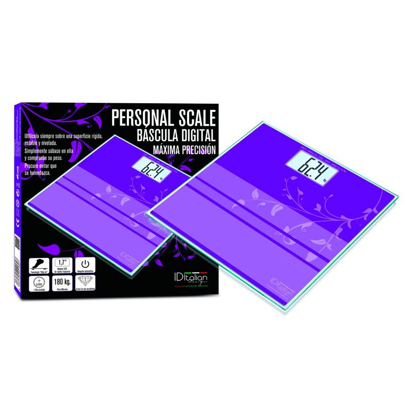 Postquam Bathroom Scale One Size Purple