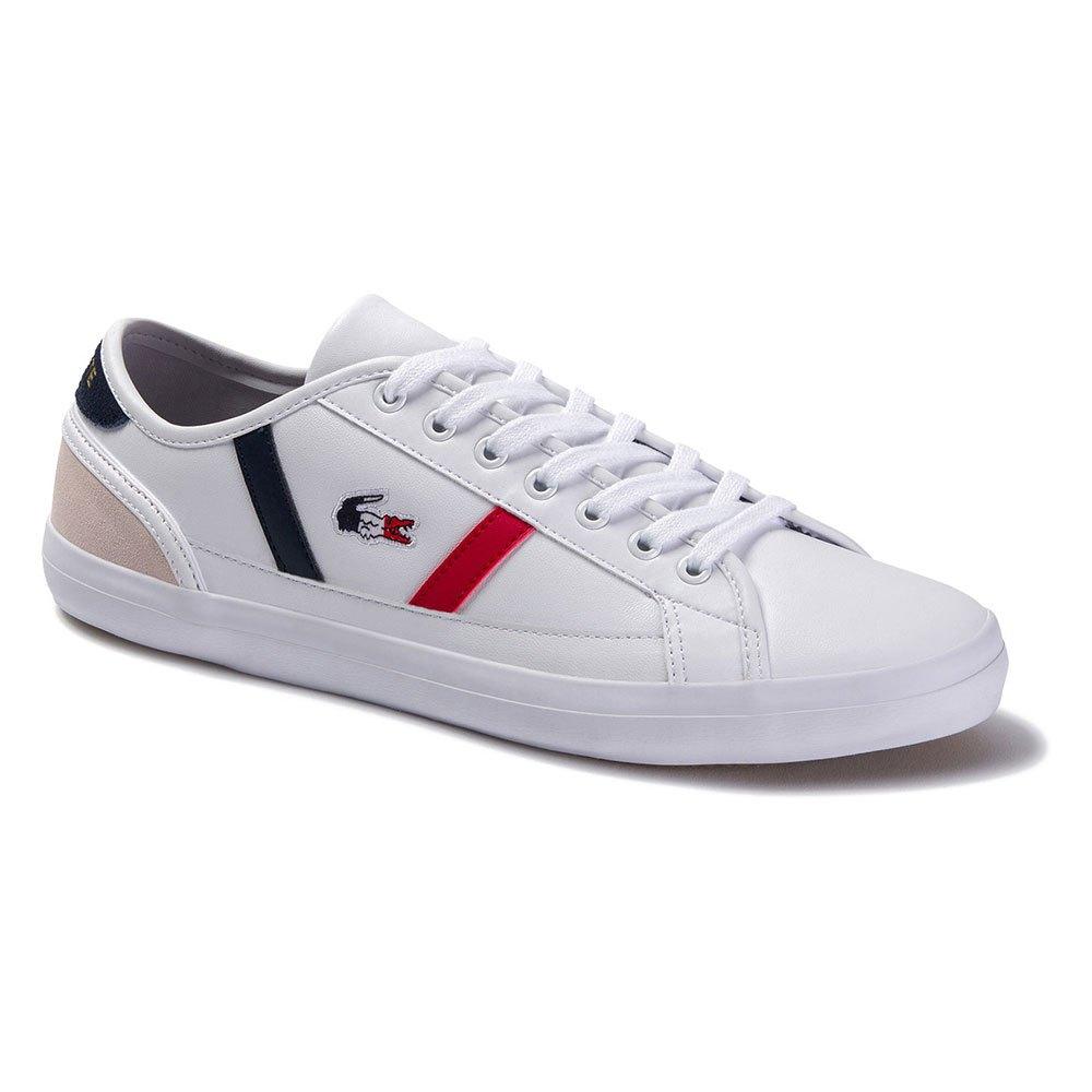 Lacoste Sideline Tri 1 EU 39 1/2 White / Navy / Red
