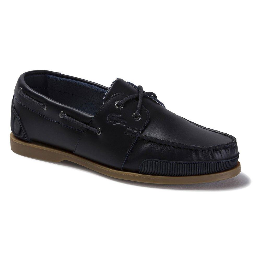 Lacoste Nautic Soft Leather EU 42 Navy / Gum