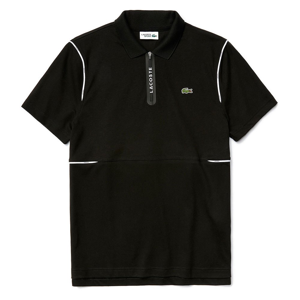 Lacoste Sport Ultra Soft Cotton XS Black / White / Black