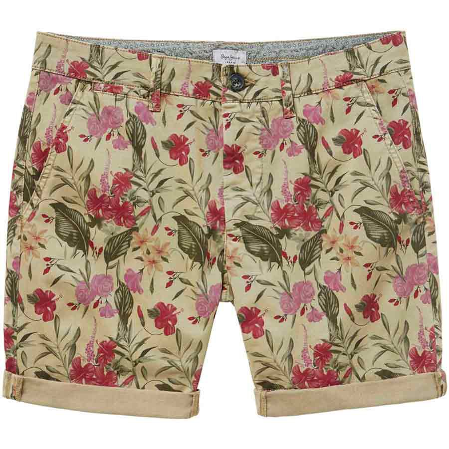 Pepe Jeans Mc Queen Floral 32 Stone Green