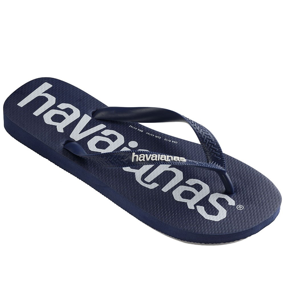 Havaianas Top Logomania EU 23-24 Navy Blue