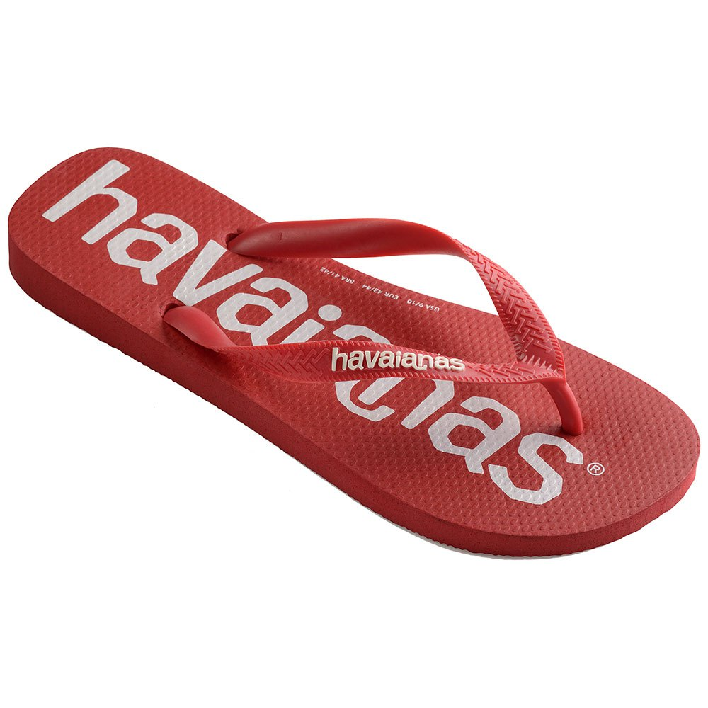 Havaianas Top Logomania EU 27-28 Ruby Red