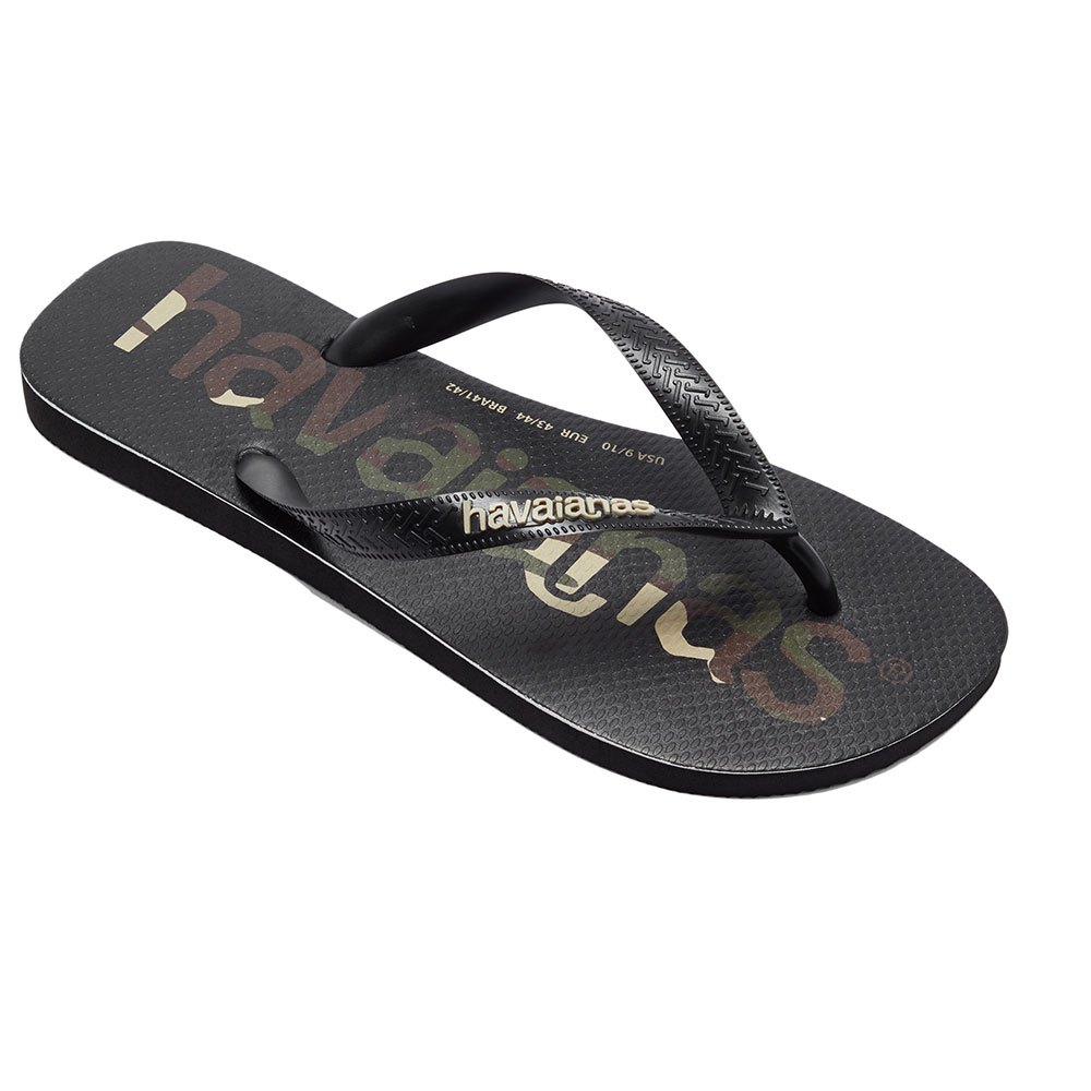 Havaianas Top Logomania EU 27-28 Black / Black / White
