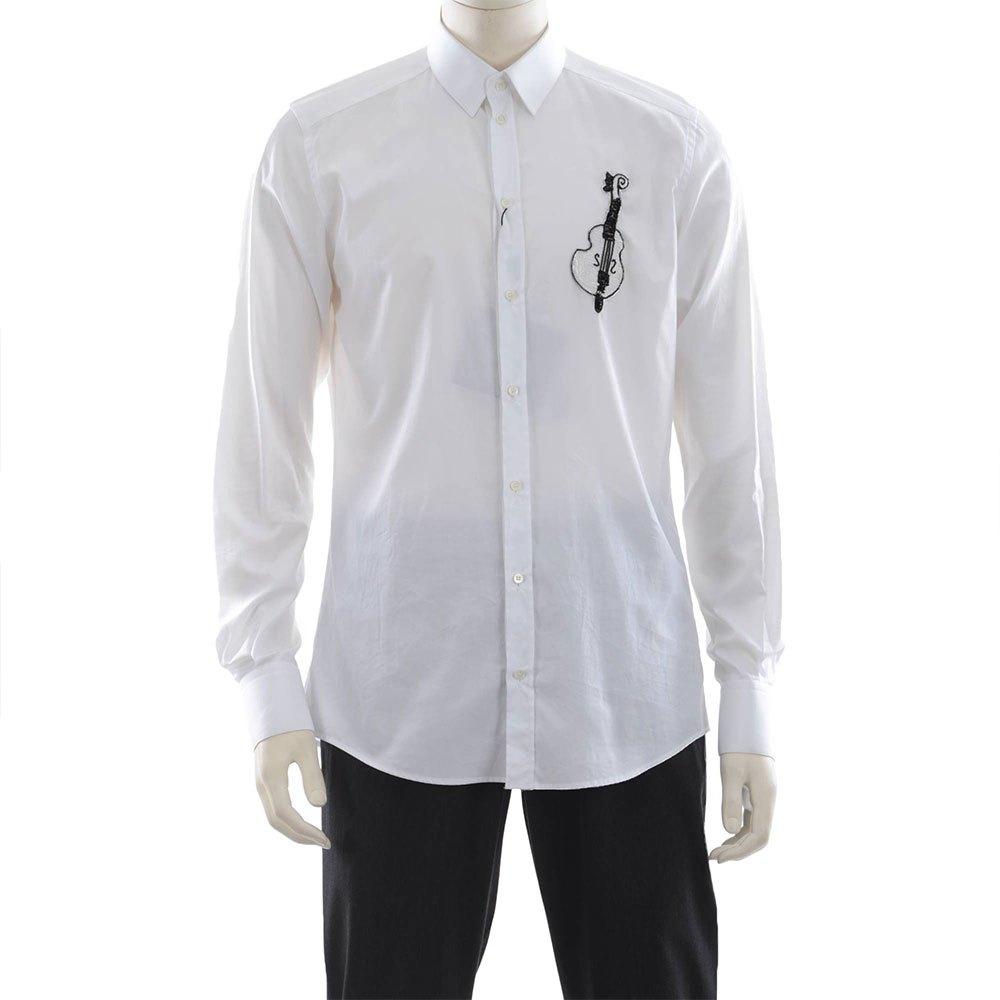 Dolce & Gabbana Long Sleeve Shirt 44 White