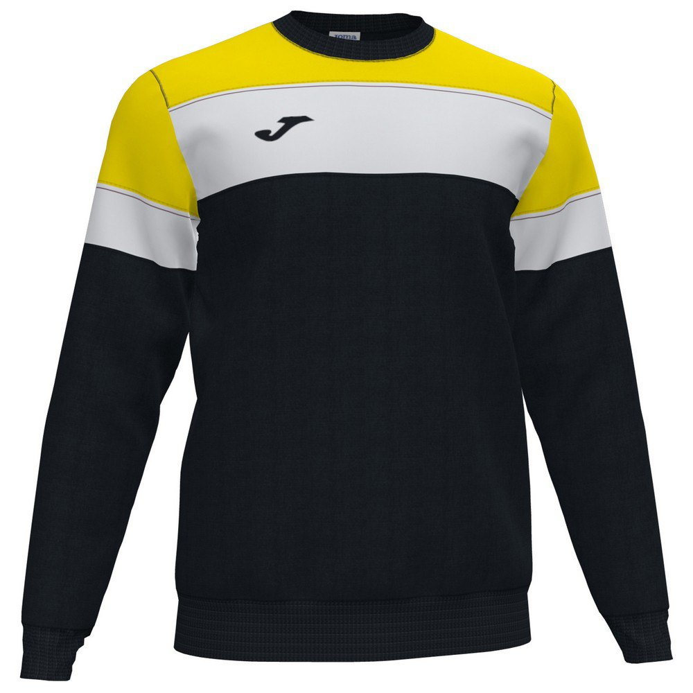 Joma Sweatshirt Crew Iv XXXL Black / Yellow