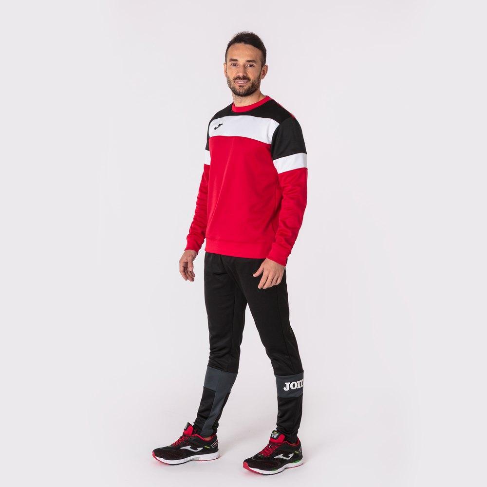 Joma Sweatshirt Crew Iv XXL Red / Black