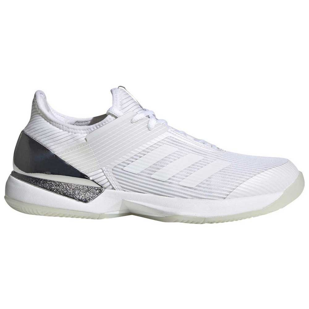 Adidas Adizero Ubersonic 3 EU 38 White / Black / Silver