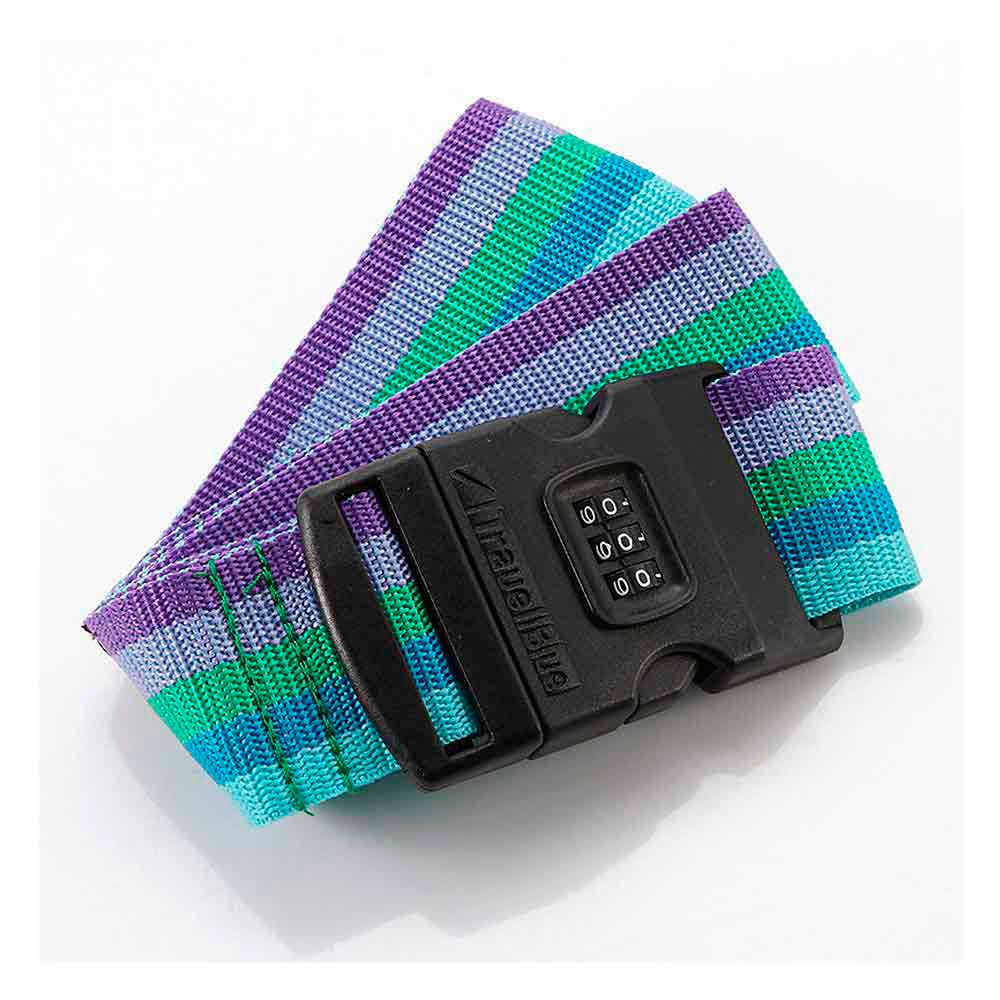 Travel Blue 2´´ Luggage Strap 3 Dial Combination One Size Mix