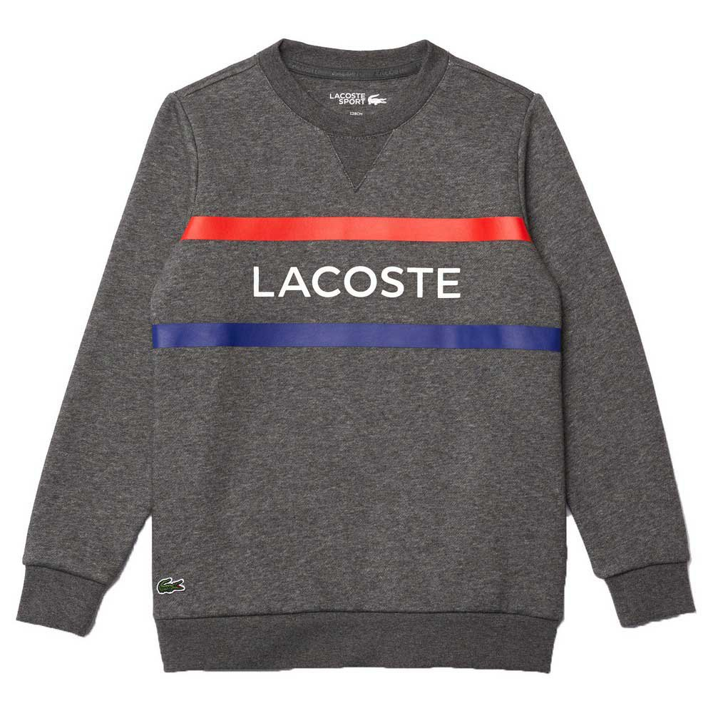 Lacoste Sport Lettering 16 Years Bitume Chine / Red-Cosm