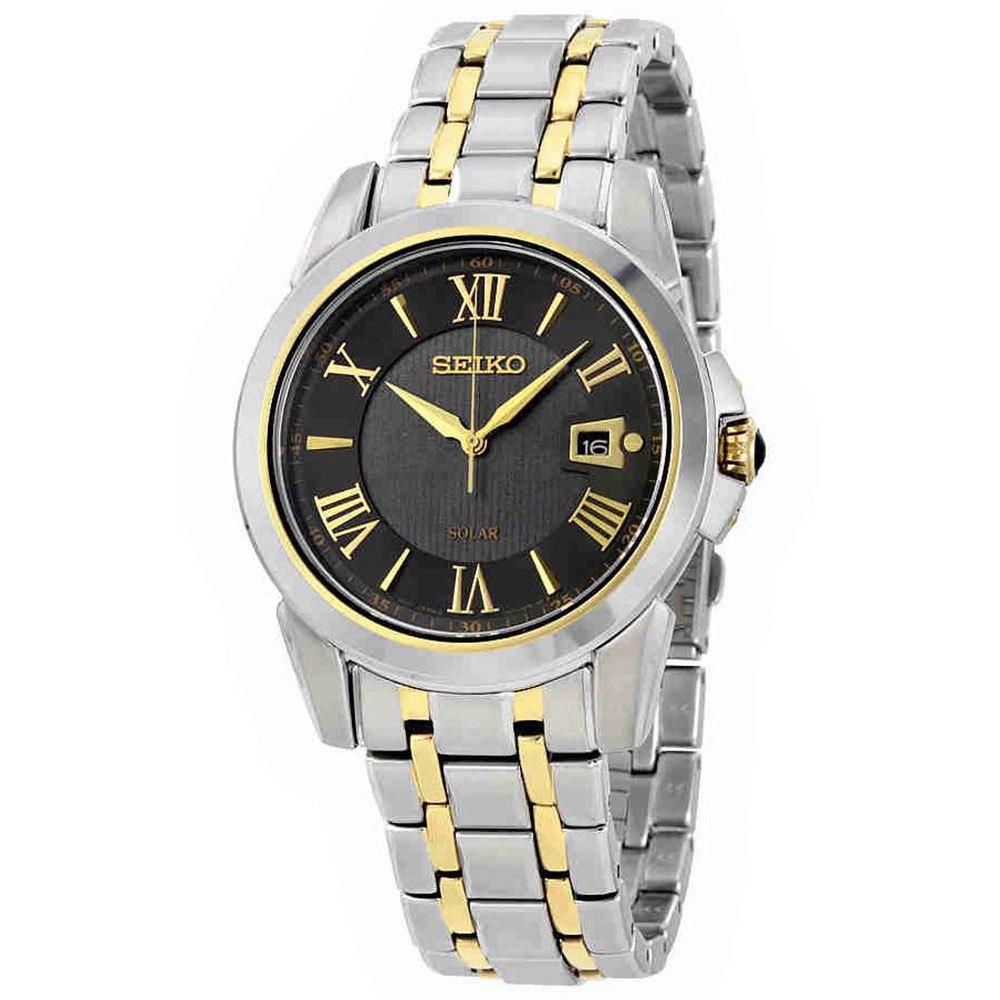 Seiko Watches Sne398p9 One Size Two tone