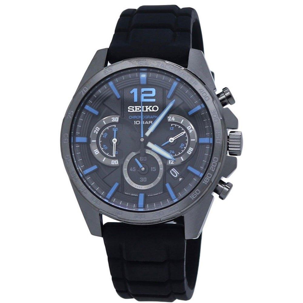 Seiko Watches Relógio Ssb353p1 One Size Black - Relógios Relógio Ssb353p1