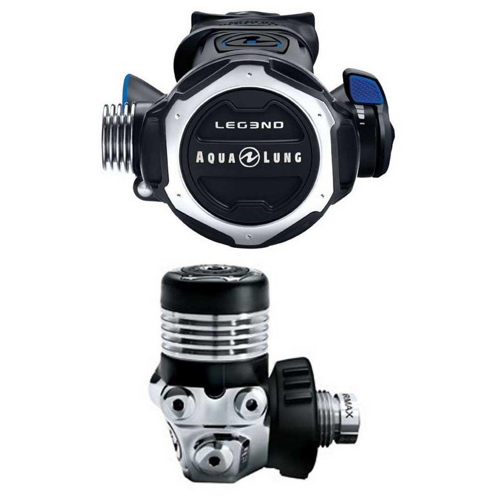 Aqualung Leg3nd Din Atemregler Set Black Steel Atemreglersets Leg3nd Din Atemregler Set
