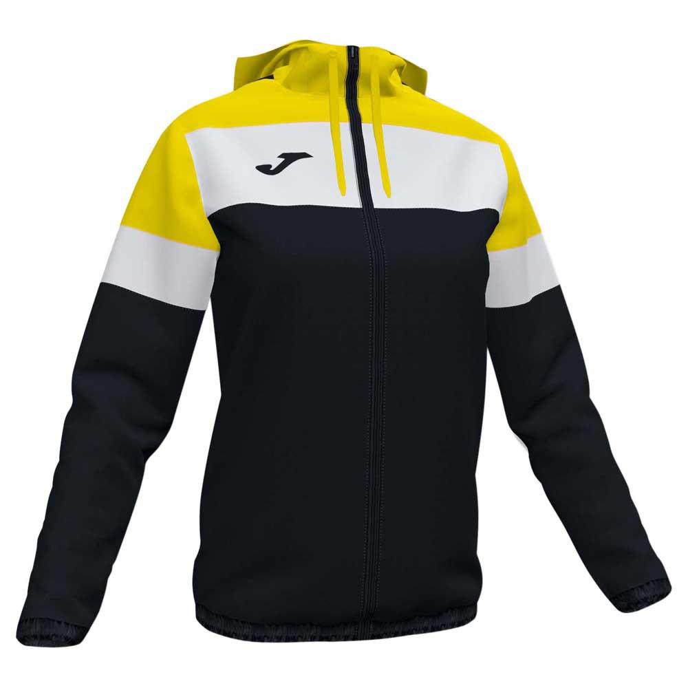 Joma Crew Iv S Black / Yellow