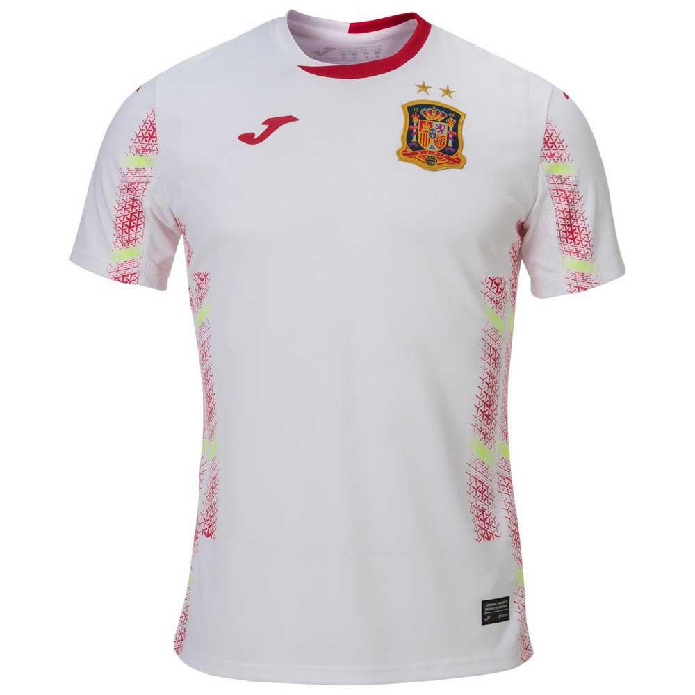 Joma T-shirt Espagne Extérieur Futsal 2020 M White